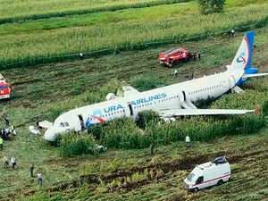 Russian pilot was hailed as a hero for safely landing his passenger jet in a corn field