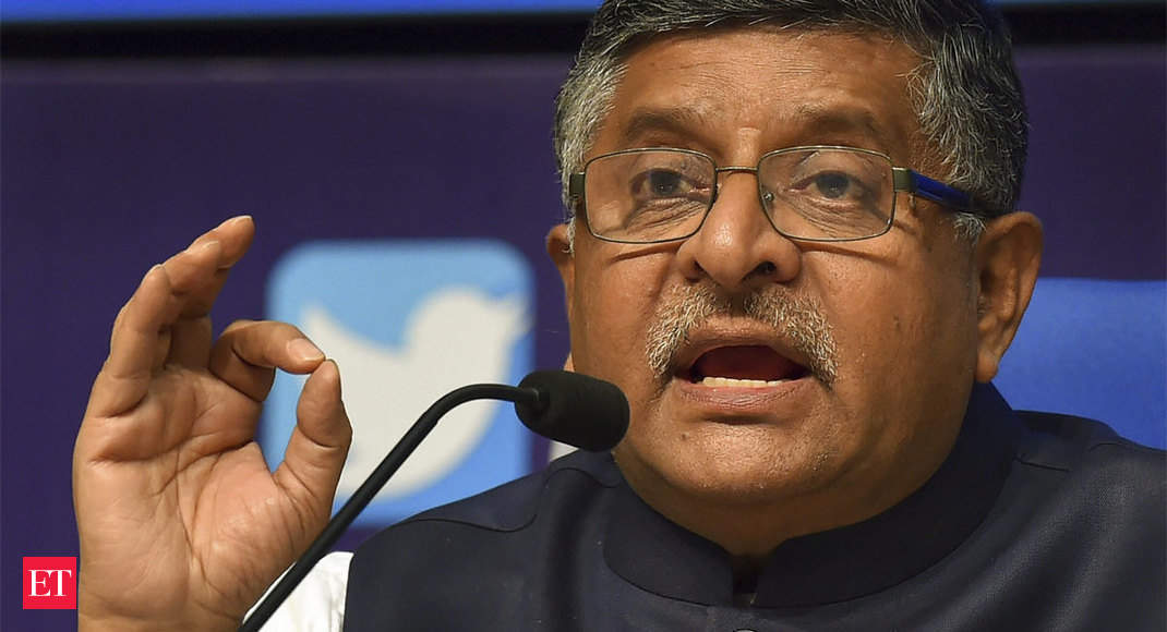 Ravi Shankar Prasad to hold a round table with electronics giants