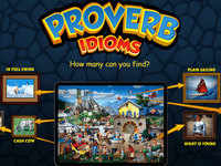 Proverbidioms review: Hidden object-style game to find proverbs & idioms