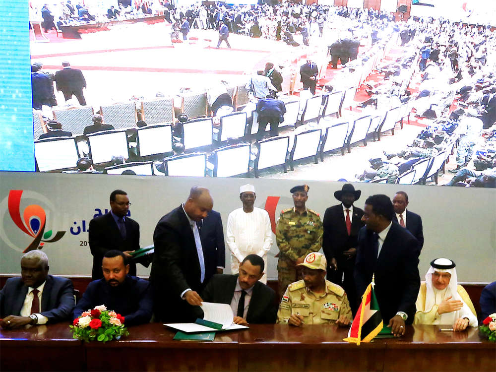 Euphoria grips Sudan as historic transition deal signed
