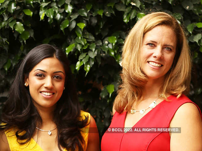 Namita Mehta, president and partner, and Kimberly Dixit, CEO and co-founder, The Red Pen