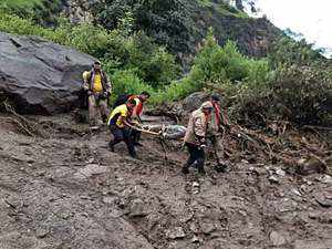 Rescue operations underway in Uttarkashi's Mori tehsil following cloudburst in area