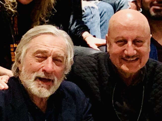 Anupam Kher called Robert De Niro 'the greatest actor on earth'.