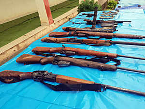 Four Naxals surrender in Chhattisgarh