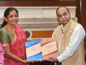 Expert panel submits report on replacing I-T Act with direct tax code to FM Nirmala Sitharaman