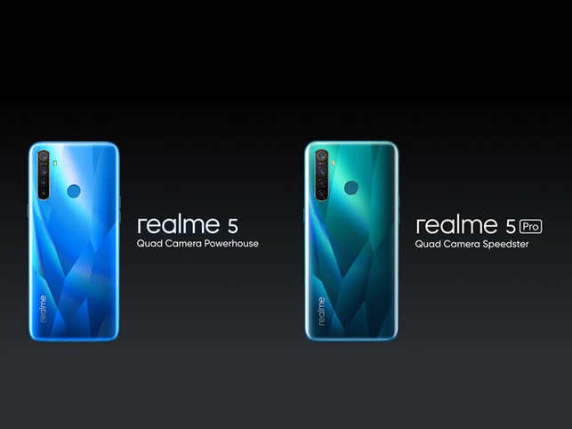 45906dd67 Realme 5 launch LIVE: With quad camera set-up & premium crystal ...