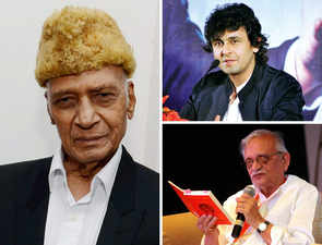 Khayyam receives funeral with full state honours; Sonu Nigam, Gulzar pay last respects