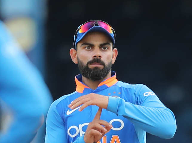 ​​Greying is almost a badge of honour for​ Virat Kohli