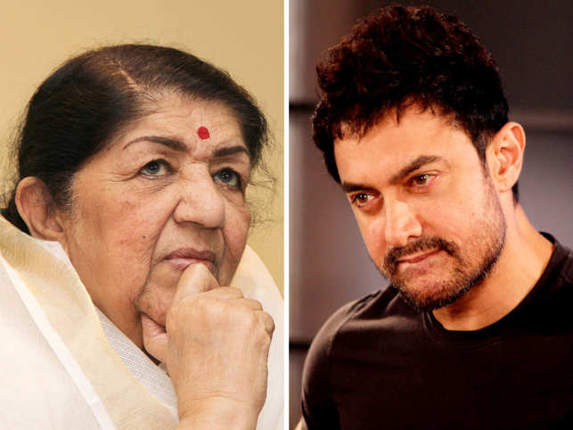 The Bharat Ratna awardee donated Rs 11 lakh towards the Chief Minister's relief fund, while the 'Dangal' actor made a contribution of Rs 25 lakh. 