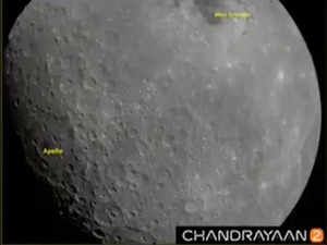 ISRO releases first set of moon pictures captured by Chandrayaan 2