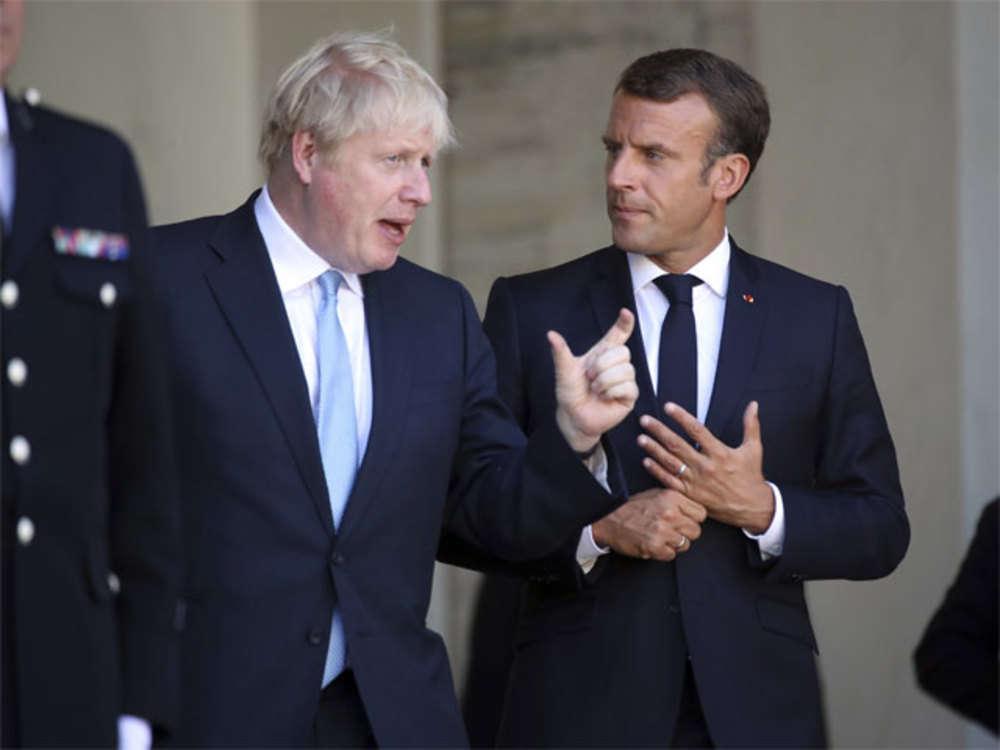 Emmanuel Macron, Boris Johnson set for bruising Brexit talks in Paris