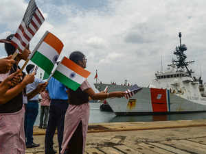Coast Guards of India, US take part in joint exercise off