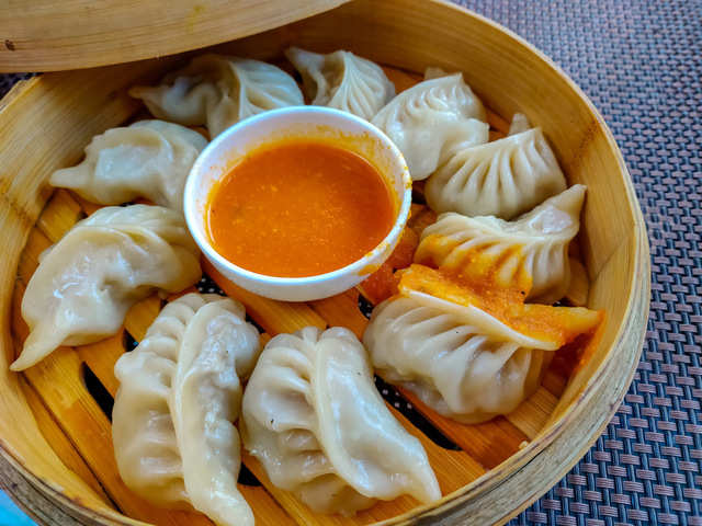 With a dash of curry spices & tandoori mayonnaise on the side, Indians gave momos a desi twist