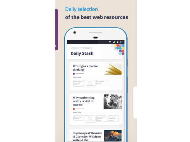 Deepstash review: A curated platform of ideas on topics like