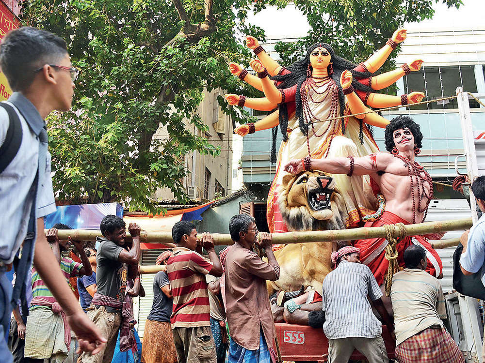 Pandal Politics: Why this year's Durga Puja in Bengal is different