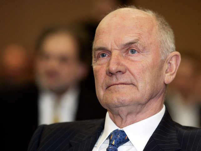 Former Volkswagen CEO and Beetle designer Ferdinand Piech