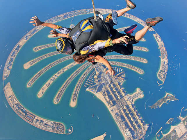 From skydiving over the Palm Jumeirah to skiing in a desert: Fun experiences to include in your Dubai bucket list