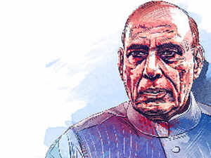 Pakistan should focus on human rights violation in PoK: Rajnath