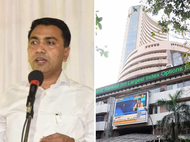 The Goa Chief Minister Dr Pramod Sawant too to Twitter to thank BSE.