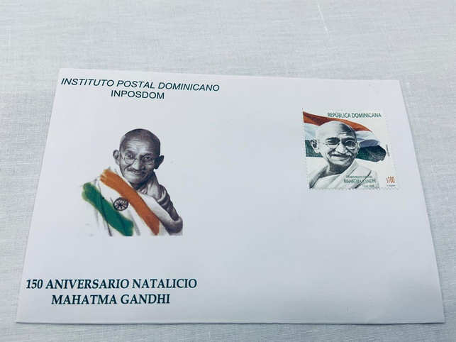 MoS MEA V Muraleedharan thanked Dominican Republic Foreign Minister Miguel Vargas Maldonado for honouring the 'father of India'. 