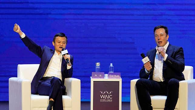 Jack Ma vs Musk: Tech tycoons spar on future of AI capabilities