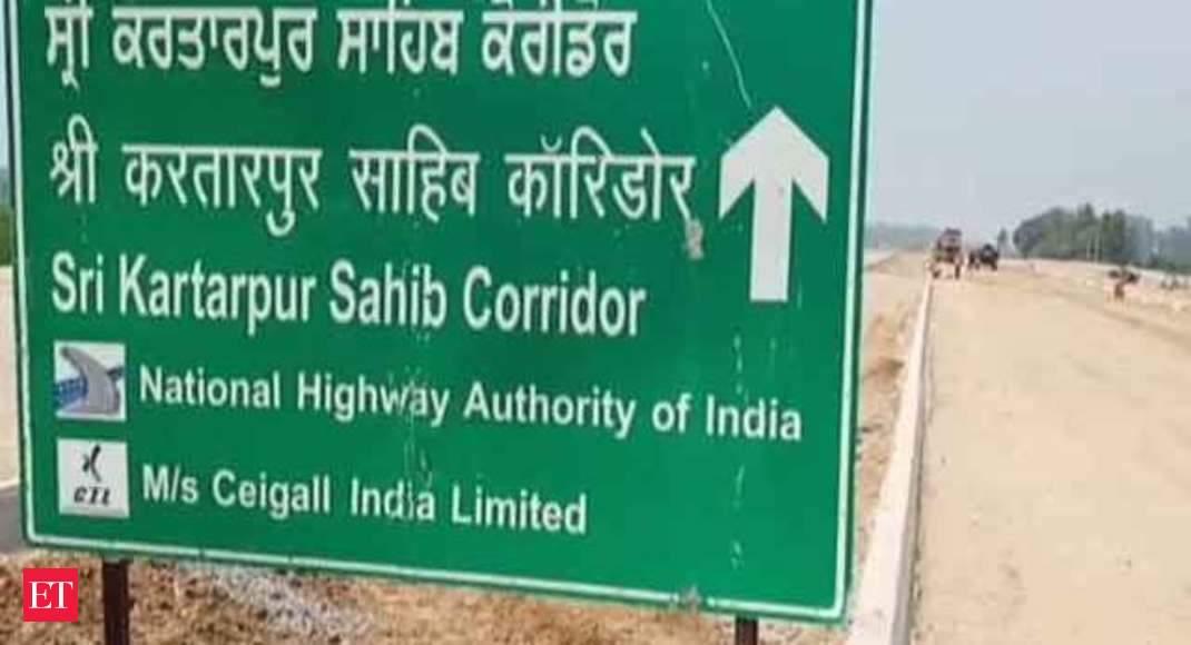 Road construction of Kartarpur Corridor continues smoothly in Punjab's  Gurdaspur