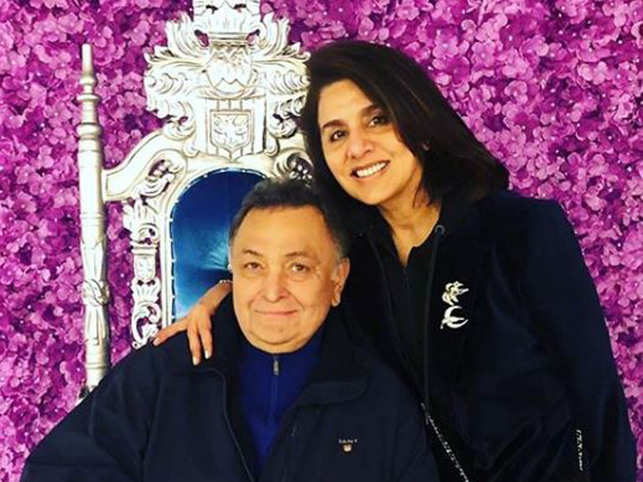 Countdown to Rishi Kapoor's homecoming begins; wife Neetu shares heartfelt post