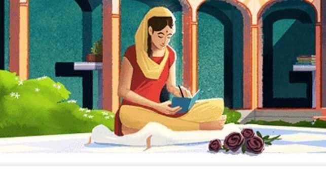 Amrita Pritam: Google Doodle honours writer on 100th birth anniversary