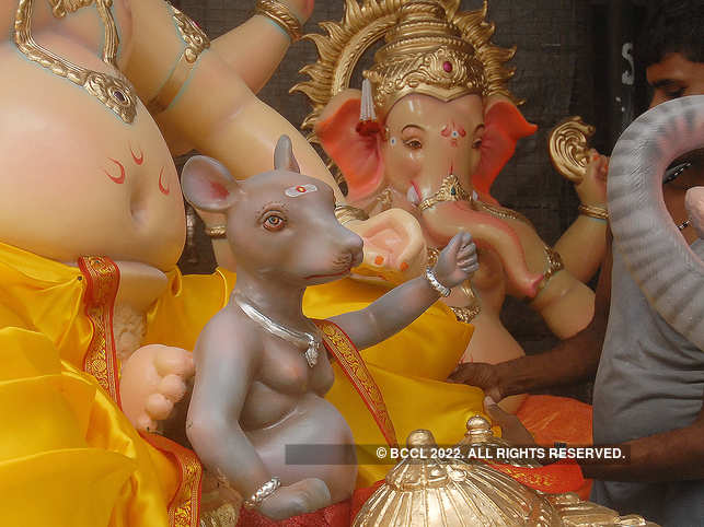 How did the mouse become Lord Ganesha's vehicle of choice?
