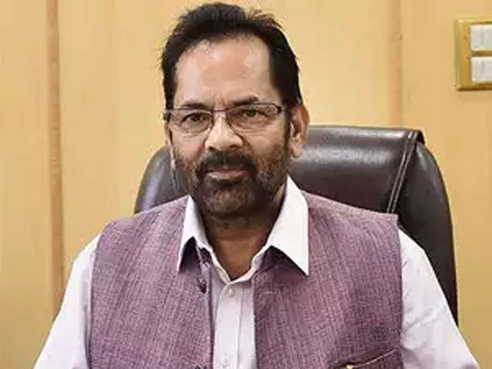 Economy and prosperity of India in safe and honest hands: Mukhtar Abbas Naqvi