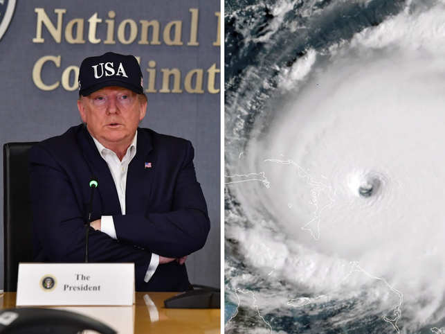 Trump's purported 'nuke 'em' cry would probably be echoed by many frustrated humans who realise they are as helpless as their Palaeolithic ancestors when it comes to controlling extreme weather. 