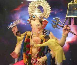 Ganesh Chaturthi: Devotees throng temple as festivities begin