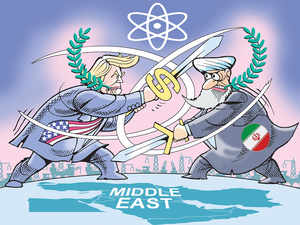 US confronts Iran but dialogue looks possible