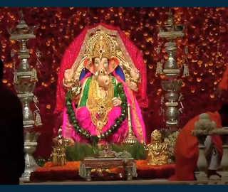 Ambanis celebrate Ganesh Chaturthi at a glittering 'Antilia'