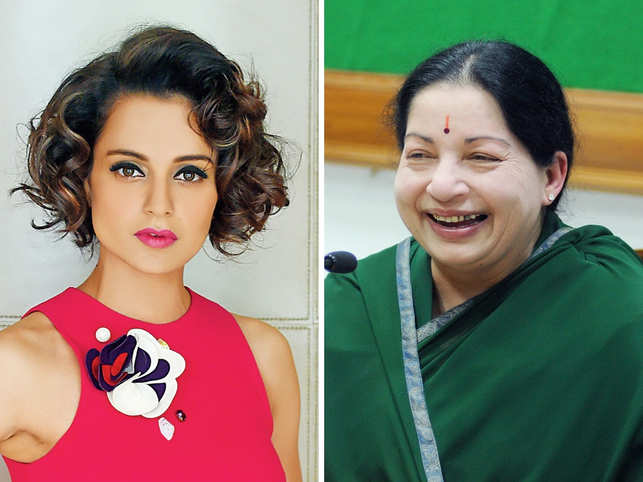 ​Kangana Ranaut (L)​ has been spotted taking Bharatnatyam classes regularly ​for the Jayalalitha (R) biopic.