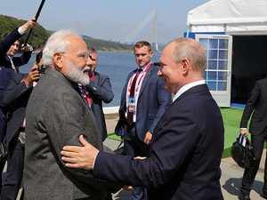 Modi in Russia: PM visits ship-building complex along with President Putin