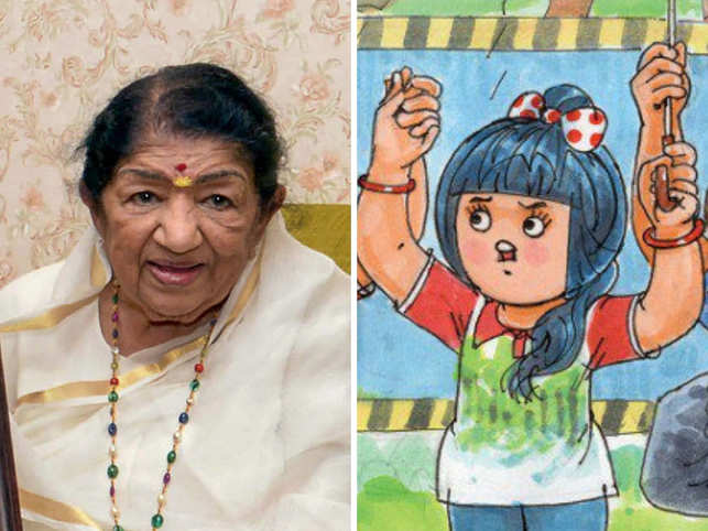 Lata Mangeshkar, Amul, and several other celebrities joined the ​#SaveAareyForest movement. ​