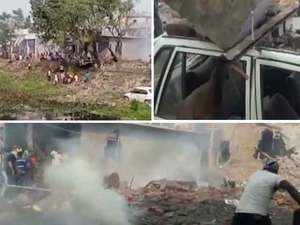 At least 9 killed in blast at cracker factory in Punjab's Batala