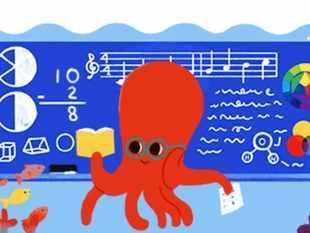 Google celebrates Teachers' Day with animated octopus doodle