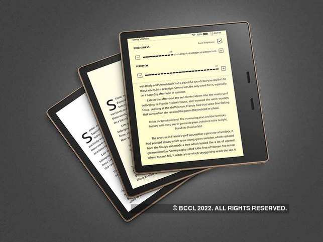 Amazon Kindle Oasis 10th Gen ​​supports multiple formats of e-books plus TXT and PDF files.​