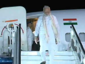 PM Modi reaches Bengaluru to witness Chandrayaan-2 landing