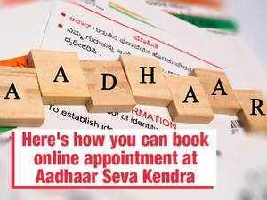 Want to update Aadhaar? Here's how you can book online appointment at Aadhaar Seva Kendra