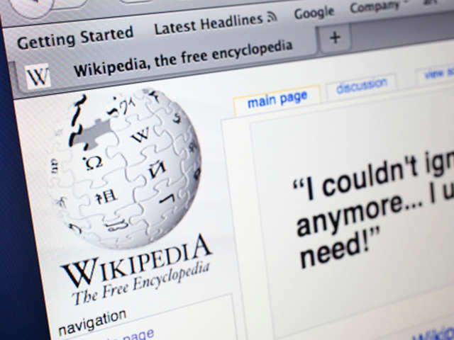 Parts Of Wikipedia Goes Offline After Malicious Attack Wikipedia Under Malicious Attack The Economic Times