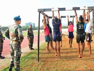 Army recruitment drive