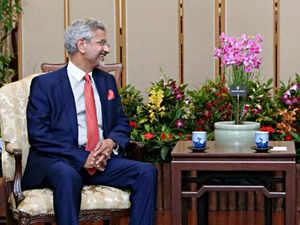 Jaishankar meets Singapore deputy prime minister, defence minister