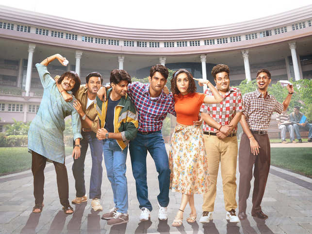Sushant Singh Rajput and Shraddha Kapoor-starrer​ ​​'Chhichhore' revolves around a group of college friends​.