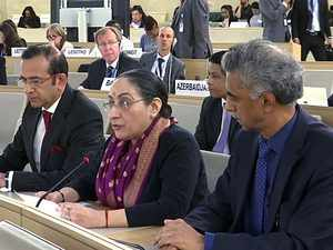 India counters Pak at UNHRC, says J&K internal matter, won't tolerate interference