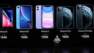 Apple unveils cheaper iPhone but fewer new features