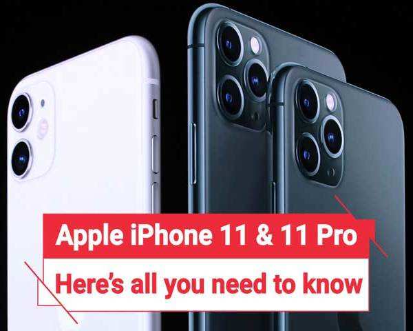 Iphone 11 11 Pro 11 Max Key Features And Price Details