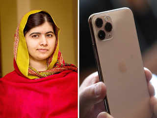Coincidence or not? Malala compares iPhone 11 Pro to her dress